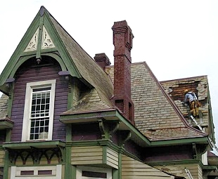 Acadian Shore Slate Roofing, Maine Slate Roofing Restoration Contractors