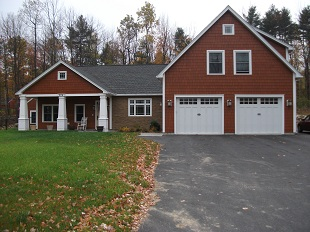 Bouffard mcfarland builders androscoggin county for Maine home building packages