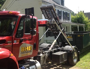 BHD Containers, Roll-off Containers & Dumpster, Debris Removal, Blue Hill, Maine
