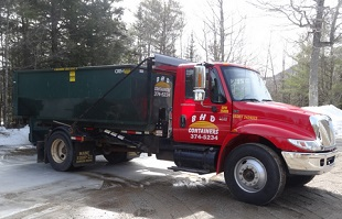 Blue Hill Maine Dumpster Rentals, Roll-Off Containers, Container Pickups, BHD Containers