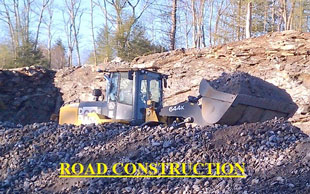 Chase Excavating Portland Maine Sitework, Excavation Company, road construction, driveway, erosion & drainage control grading, septic system, foundations