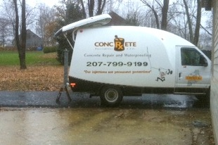 Concrete structural repairs, waterproofing, foundation cracks & drainage solutions, Protective Concrete Coatings, Concrete Prescriptions, Portland Maine