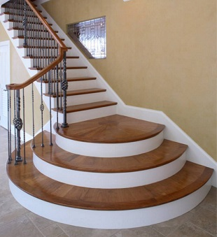 Fat Andy's Hardwoods, Custom Staircases Maine