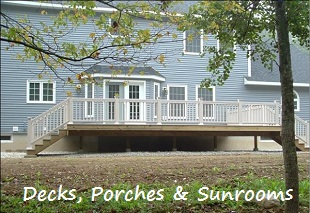 Fredericks Contracting, Residential & Commercial Additions, Porches, Decks, Sunroom Builders