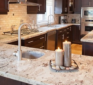 Granite Shop Plus, granite vessel Sinks, farm apron kitchen sinks, granite stone garden statues Maine