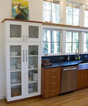 Hewes & Company, Custom Cabinetry, Millwork, Woodworking, Stairways, Built-in Cabinetry, Maine