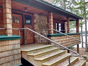 LakeHouse Design Build, Camden Maine Cottage, Camp, Summer Home Builders