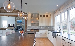 Russ Doucette Homes, Custom Kitchens, Baths, Cabinetry, Mill Work, Scarborough, Cape Elizabeth, Falmouth, Portland Maine