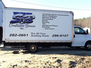 S&B Construction-Services, new home builder, Remodeling & Renovation builder, home additions, garage, deck, replacement window and door installations Saco Maine