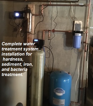 Wellman Plumbing & Water Treatment, Camden, Belfast, Rockland, Mount Desert Island Maine Water Treatment, Filtration System Installations and Service