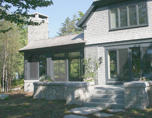 New Homes, Cottage Builders, Winter Harbor, Gouldsboro, Blue Hill, Deer Isle, Camden Maine