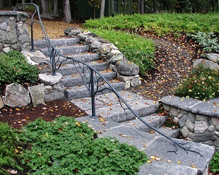 Burdick & Associates Landscape Design, Coastal Maine Landscaping, Landscape Design & Planning, Water Gardens & Pools, Landscape Stone Masonry, Mount Desert Island, Gouldsboro, Sorrento, Winter Harbor Maine