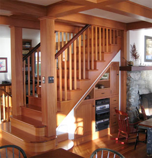 Custom Cabinetry, Build-in cabinetry, specialty doors and Woodworking by Hewes & Company, Blue Hill Maine