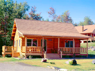 Katahdin Cedar Log Homes Maine Blue Hill Builders